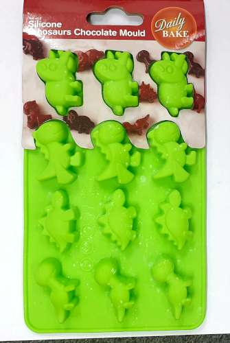 Silicone Dinosaur Chocolate Mould